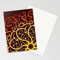 Trepadora Roja Stationery Cards