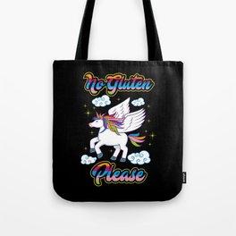 Not Gluten Please - Unicorn Nutrition Health Tote Bag
