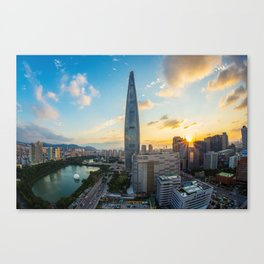 Korea - World Big City Canvas Print