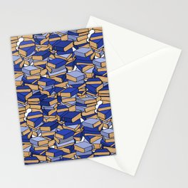 Book Collection in Blue Stationery Cards