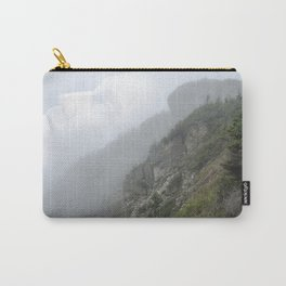 Face in the Fog Carry-All Pouch