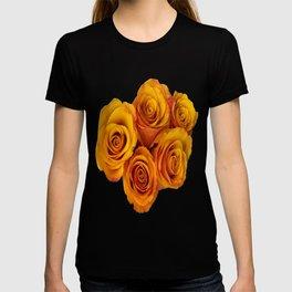 Grenadier Tangerine Roses T-shirt