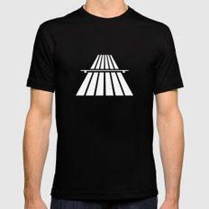 Autobahns | Autobahn | Motorway | Freeway | Highway | Bundesautobahn | Road sign Black Mens Fitted Tee MEDIUM