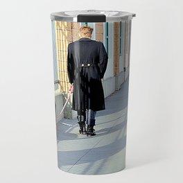 The Shadow Striper's Dog Walk Travel Mug