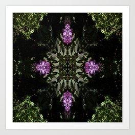 Lilacs for the Celts... Art Print