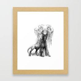 Salix babylonica Framed Art Print