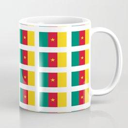 flag of cameroun -cameroun,cameroon,Cameroonian,camerounais,camerun, yaoundé,douala. Coffee Mug