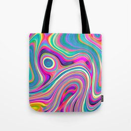 Candy pink melt Tote Bag