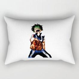 Midoriya Angry Rectangular Pillow