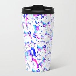 Universe Unicorn Pattern Travel Mug