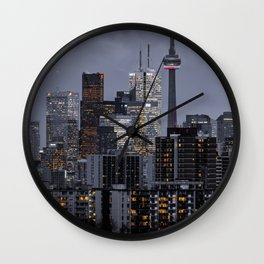 City night ville Wall Clock