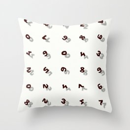 Up to Nine Throw Pillow