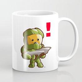 Halo Master Chief Kawaii Coffee Mug