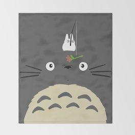 Cute Totoro Throw Blanket