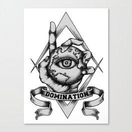 World Domination Canvas Print
