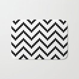 Tribal Chevron W&B Bath Mat