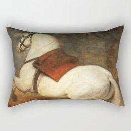 """Diego Velázquez """"The white horse"""" Rectangular Pillow"""