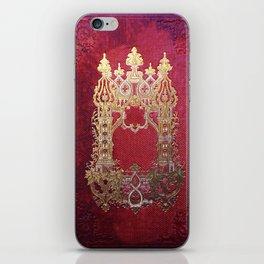 Ink Stained Crimson Book iPhone Skin
