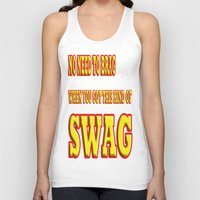 swag Tank Tops featuring SWAG by quality products
