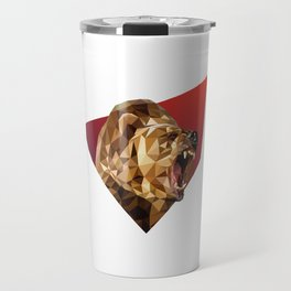 Low Poly Bear Travel Mug