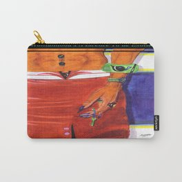 WOMANHOOD'S A LICENCE TO BE EXOTIC Carry-All Pouch