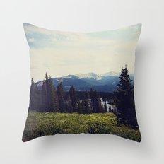 Lake Irwin Throw Pillow