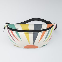 Rainbow ray Fanny Pack