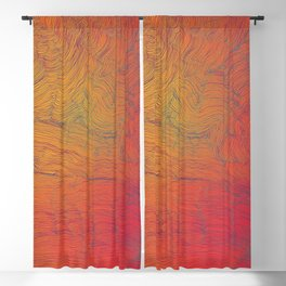 Auric Waves Blackout Curtain