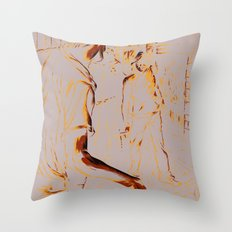 The Alley Throw Pillow
