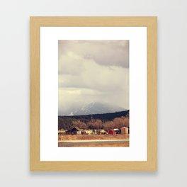 Flagstaff Framed Art Print