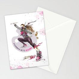 Ninja Artist Stationery Cards