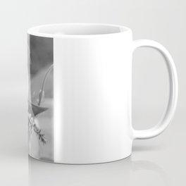 Freesia 2 B&W Coffee Mug