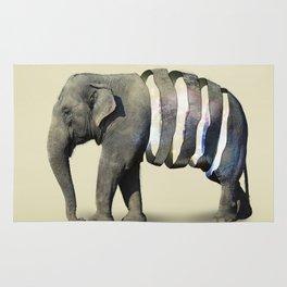 Inner Space Elephant Rug