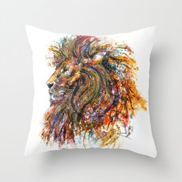 'The King' Throw Pillow