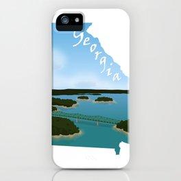 Georgia: Lake Lanier iPhone Case