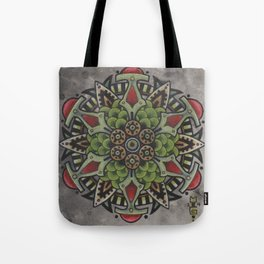 Photosynth Mandala Tote Bag