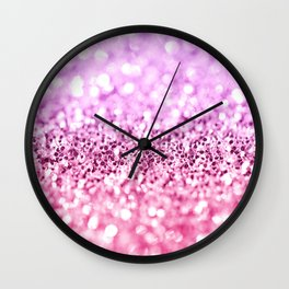 Glamorous Glitter  Wall Clock