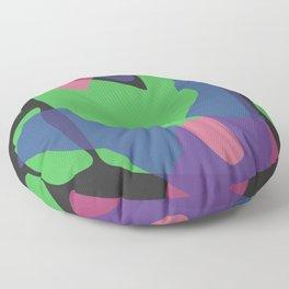 S H A P E S // onB L A C K Floor Pillow
