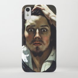 Gustave Courbet-The Desperate Man iPhone Case