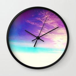 Somewhere Far Away Wall Clock