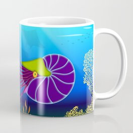 Paper Craft Nautilus Coffee Mug
