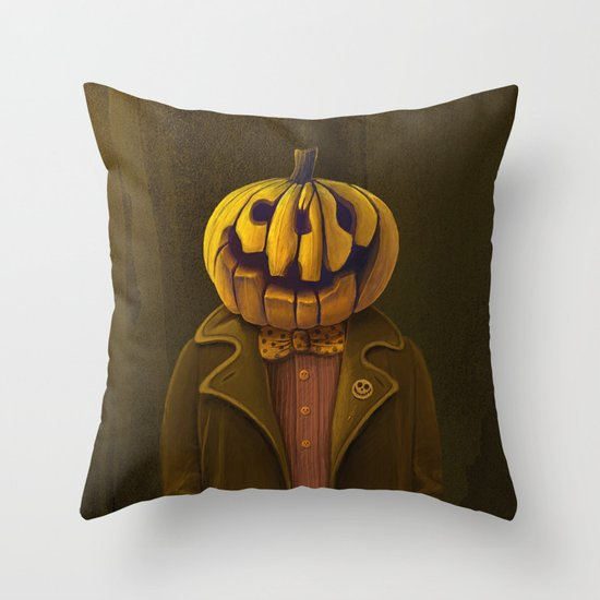 Hi, my name is Hall! Throw Pillow