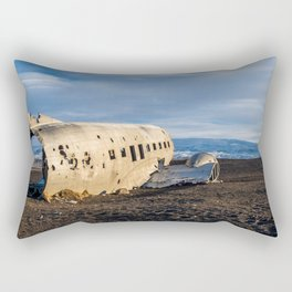 Crash site III Rectangular Pillow