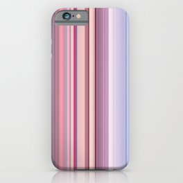 Abstract Vertical Modern mixed stripes v2 iPhone Case