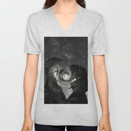 The way our souls melted. Unisex V-Neck