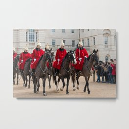 Household Cavalry Metal Print