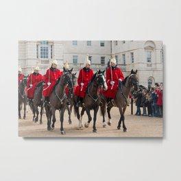 Household Cavalry Metal Print