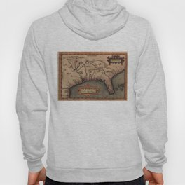 Vintage Spanish Map of Florida Discovery (1584) Hoody