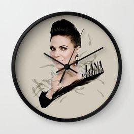 Lana Parrilla Wall Clock