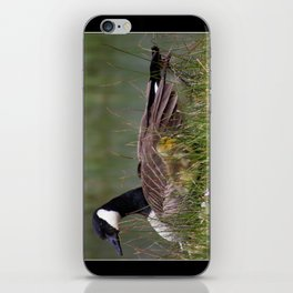 mother and gosling iPhone Skin